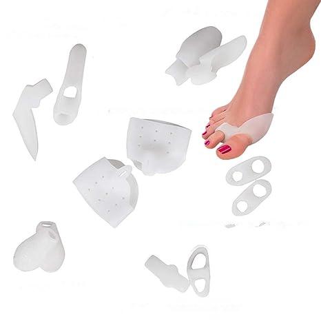 Alivio de Juanete(12pcs) - Trata el dolor de pies, corrige juanetes, juanetes de sastre, ...