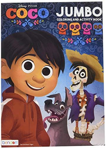 Coco Coloring & Activity Book for Kids & Adults (Disney/Pixar) – Made in USA – 96 Pages of Premium Quality Book