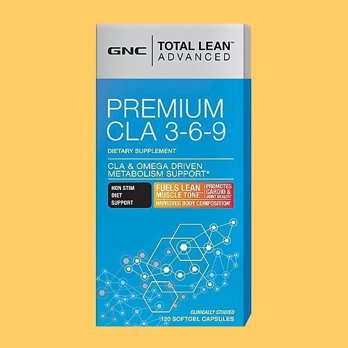 GNC Total Lean Advanced Premium CLA 369 120 Softgel Cap