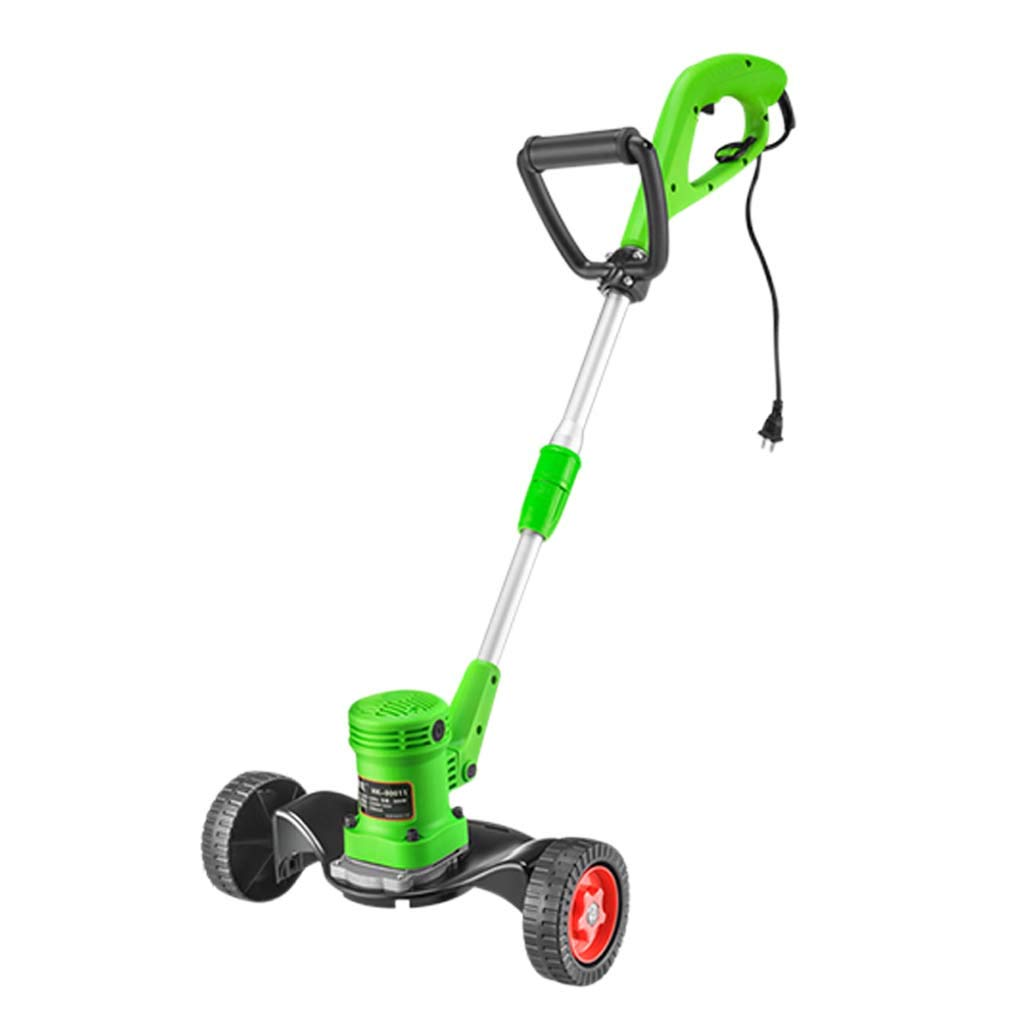 WHJ@ Household Electric Lawn Mower Grass Small Multi-Function Artifact Weeding Plug-in Lawn Mower Lithium Battery Charging Lawn Mower by ZM-Lawn mower