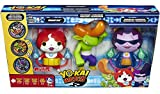 Yo-Kai Watch Jibanyan, Roughraff & Baddinyan Exclusive Action Figure 3-Pack [Exclusive Metals!]