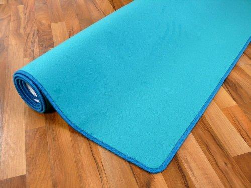 Basic Velours Teppich Teppich Teppich Carla Türkis in 17 Größen B008FO3EBA Teppiche 560f0e