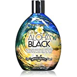 ALOHA BLACK 13.5 oz TANNING LOTION