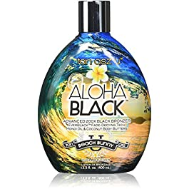 Tan Asz U ALOHA BLACK Advanced 200X Black Bronzer – 13.5 oz.