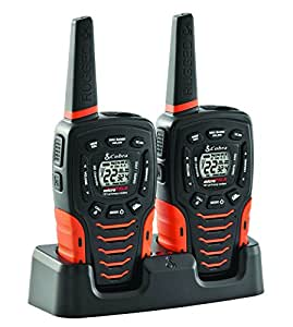 cobra acxt645 walkie talkies 35 mile two way. Black Bedroom Furniture Sets. Home Design Ideas