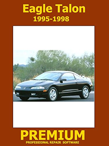 Eagle Talon Repair Software (DVD) 1995 1996 1997 1998