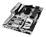 MSI Computer Enthusiastic Gaming Intel Z170 LGA 1151 DDR4 USB 3.1 ATX Motherboard (Z170A Mpower GAMING TITANIUM)