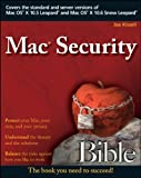 Mac Security Bible, Wiley and Joe Kissell, 047047419X