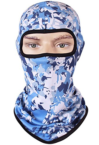 Hycome 3D Skull Camouflage Animal Balaclava Face Mask Breathable Outdoor Sports Motorcycle Cycling Snowboard Hunting Ski (Camouflage5)