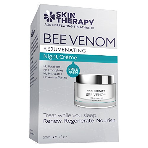 Skin Therapy Bee Venom Rejuvenating Night Creme, 50ml (Skin Therapy Cream)