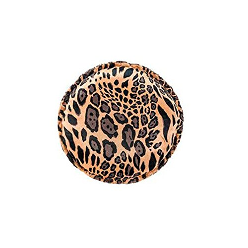 Almofada Redonda Safari - Leopardo