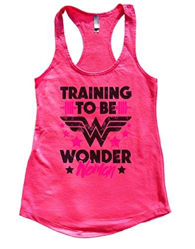 "Womens Flowy Tank Top ""Training To Wonder Woman"