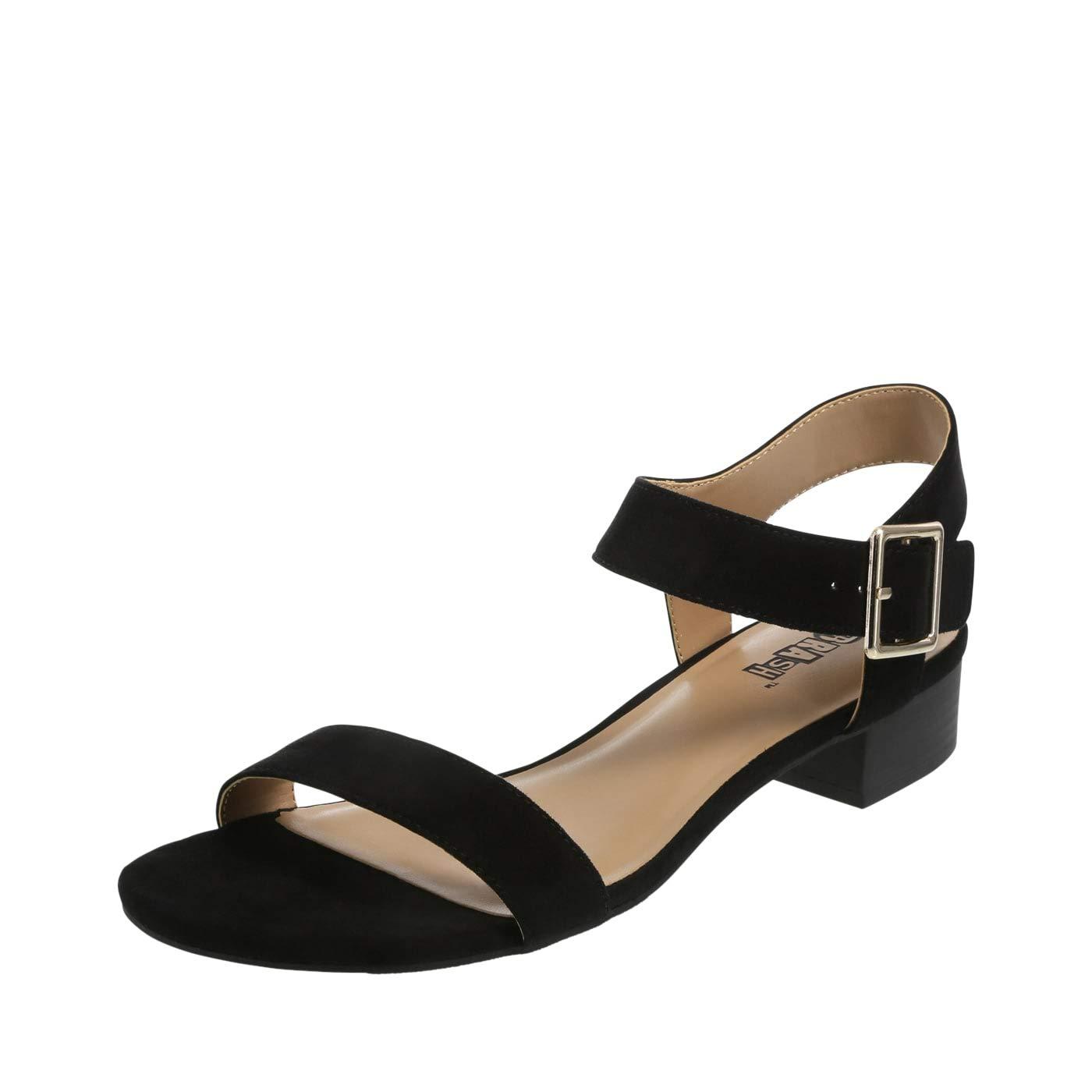 885443ce04 Amazon.com | Brash Women's Samara Low Block Heel Sandal | Sandals