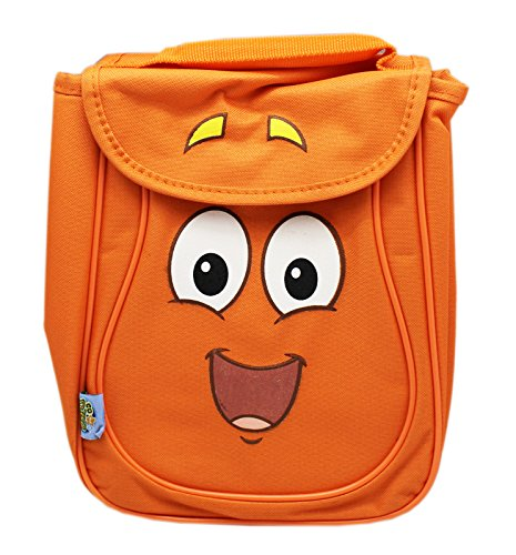 Go Diego Go Rescue Pack - Go Diego Go! Mr. Backpack Orange Colored Kids Insulated Lunch Bag
