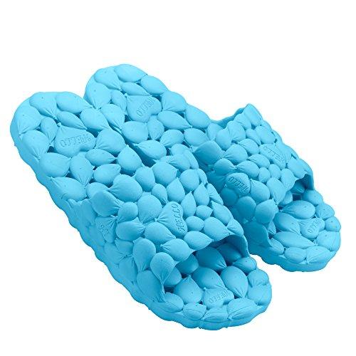 Women Men Household Home Bathroom Shower Slippers Sandals Summer Outdoor Beach Gym Slippers Sandals Lightly Quick-Dry Deodorant Non-Slip