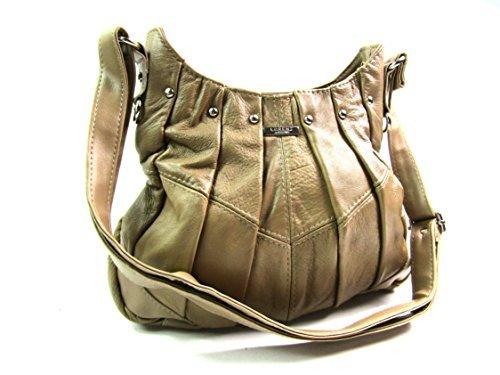 The Leather Emporium - Bolso de hombro Mujer beige