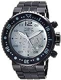 Invicta Men's 'Pro Diver' Quartz Stainless Steel Diving Watch, Color:Black (Model: 25079)