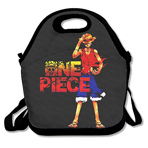 Black Burn Luffy Unisex Lunch Bags For Woman Man Kid (Lady Zoro)