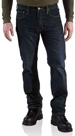 Carhartt Jeans 5 pocket straight cut rough Denim