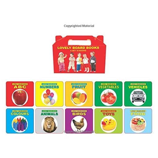Lovely Board Books: Gift Pack (Set Of 10 Books)