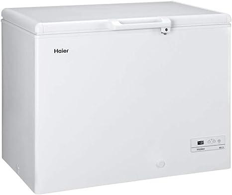 Haier HCE319R Independiente Baúl 319L A+ Blanco - Congelador (Baúl ...