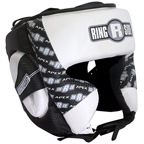 Apex Headgear, White/Black, Large/X-Large