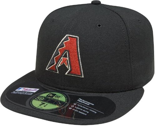 New Era MLB Arizona Diamondbacks Alternate AC On Field 59Fifty Fitted Cap-700