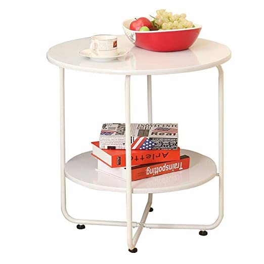 Amazon.com: HANSHAN Side Table Side Table, Small Apartment ...
