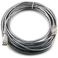 胜为 USB2.0延长线 UC-2100 银白色 10米
