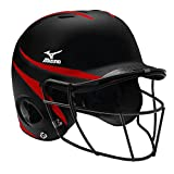 Mizuno MVP Batter's Helmet with Fastpitch Facemask