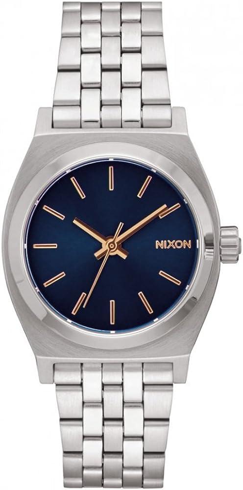 Nixon Mini Time Teller Reloj para Mujer Analógico de Cuarzo con Brazalete de Acero Inoxidable A11302195