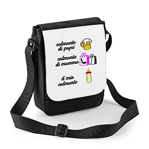 mio di mamma Mini Bianco 18x22 il Compleanno calmante bubbleshirt tracolla idea camlmante regalo borsa di calmante cm misura in a poliestere papà 7vqnwgnz