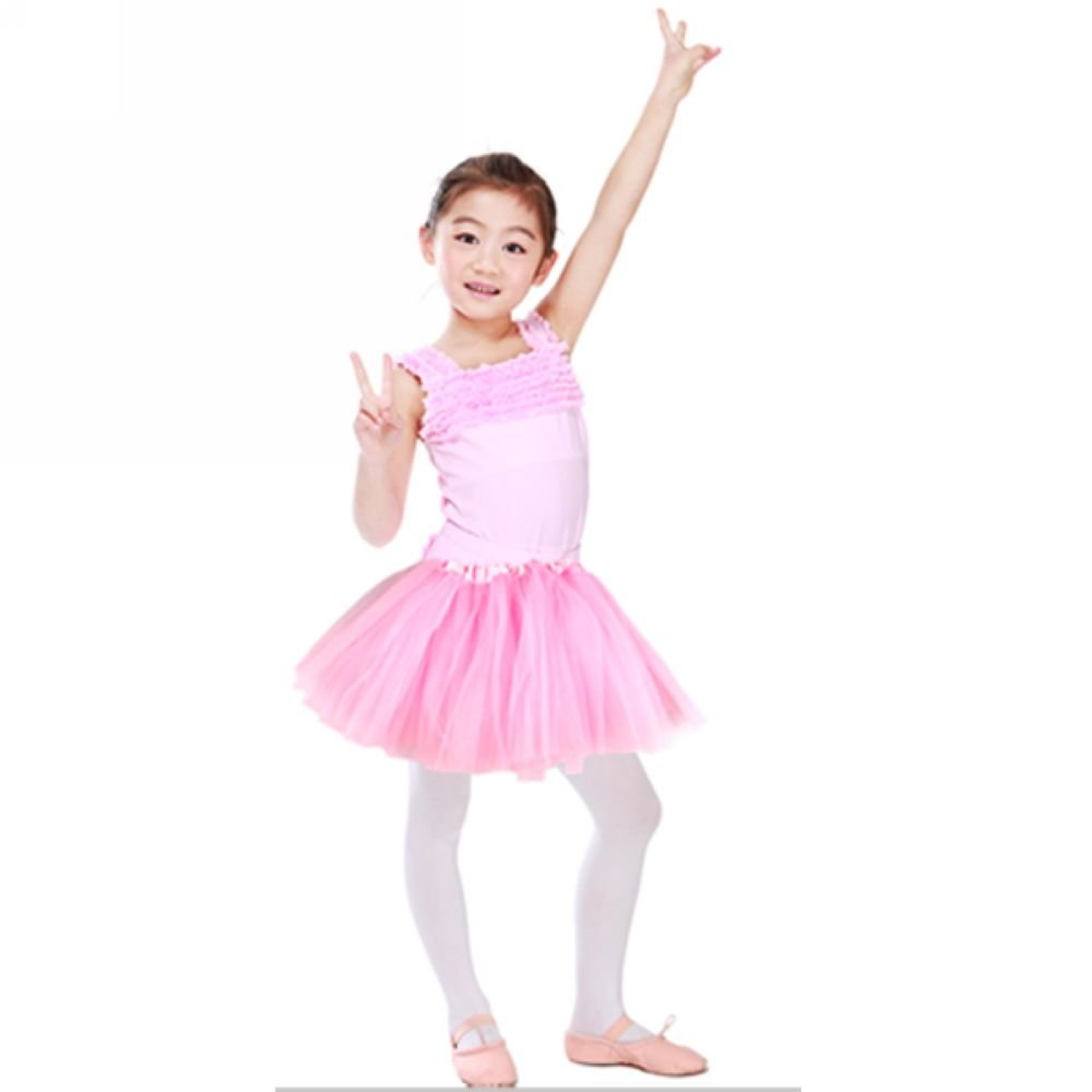 Tutu/Falda Con Tul Rosa Bailarina Danza Baile Diafraz Ballet: Amazon ...