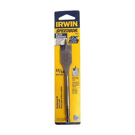 Irwin Tools 3041017 13//16 X 6 Speedbor Max Drill Bit