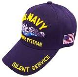 United States Navy Veteran Hat Baseball Cap (Navy Submarine)