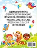 365 Jumbo Activity Book for Kids Ages 4-8: Over 365