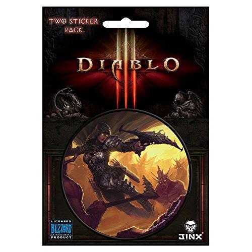 JINX Diablo III Demon Hunter Class Sticker, Multi-Colored, 3