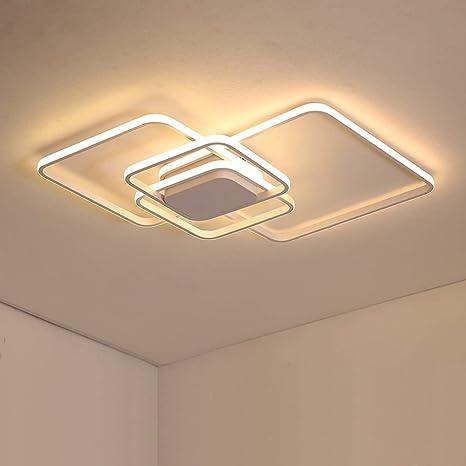 Leohome Plafoniere moderne a Led per soggiorno Illuminazione ...