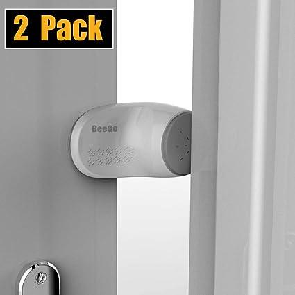 Door Guard Stopper Baby Safety Jammer Door Stop Plastic Anti Finger Slamming WT