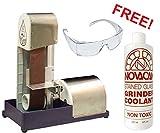 Gryphon Wet Belt Sander+ w/ FREE 8oz. Novacan Grinder Coolant & Safety Glasses