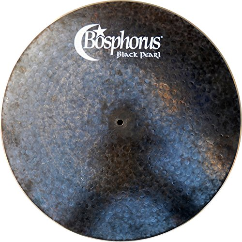 Bosphorus Cymbals BP18FR 18-Inch Black Pearl Series Flat Ride Cymbal