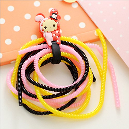Mziart DIY Spiral Wire Cable Protectors / Cable Wrap / Wire