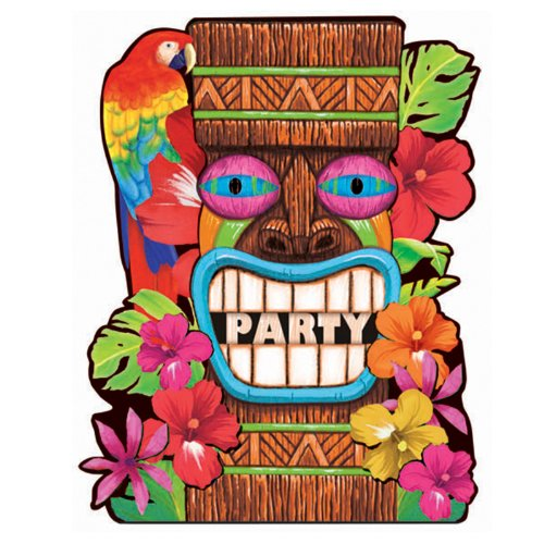 Tiki Summer - Invitations Party