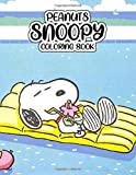 "Peanuts Snoopy Coloring Book:: Drawing Art 8.5 x 11"" pages, one side Peanuts Snoopy Coloring Book. Over 50 Great…"