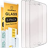 [3-PACK]-Mr Shield For iPhone 6 / iPhone 6S [Tempered Glass] Screen Protector with Lifetime Replacement Warranty (Wireless Phone Accessory)
