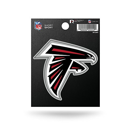 Rico Industries NFL Atlanta Falcons Die Cut Team Logo Short Sport Sticker
