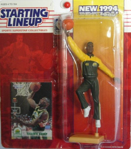 (Starting Lineup Sports Superstar Collectibles 1994 Shawn Kemp)