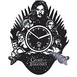 Game Of Thrones, Movie 2017, Vinyl Record Clock, Best Gift For Him, Kovides Vinyl Wall Clock, Home Decor, Season 7 Vinyl Wall Clock, Silent, Wall Sticker, Valentines Day Gift, Modern Art
