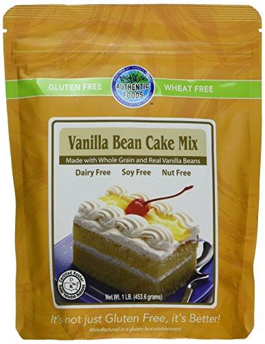 (Authentic Foods Gluten Free Vanilla Bean Cake Mix)