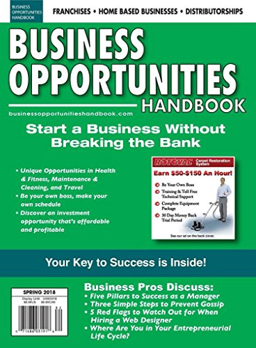 Large Product Image of Business Opportunities Handbook